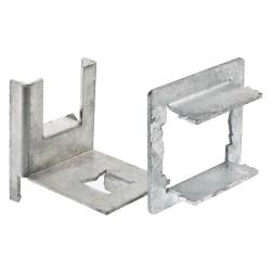 Adapter für Montagesockel für Flachdachmontage